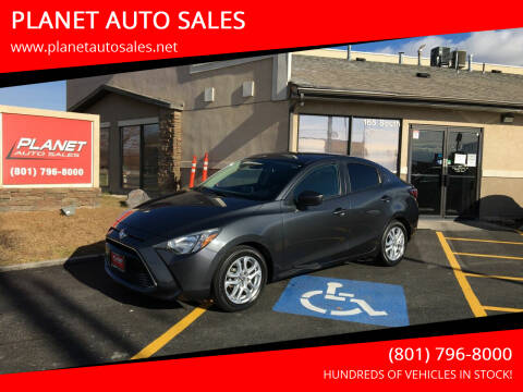 2017 Toyota Yaris iA for sale at PLANET AUTO SALES in Lindon UT