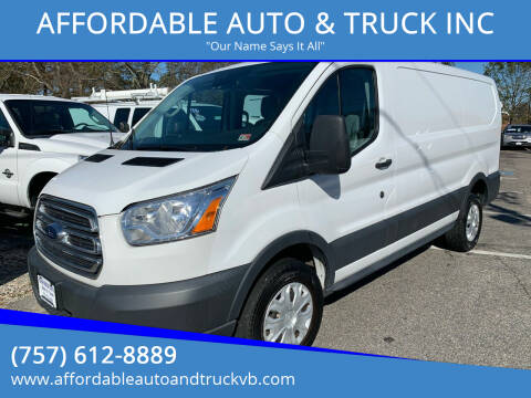 2017 Ford Transit Cargo for sale at AFFORDABLE AUTO & TRUCK INC in Virginia Beach VA