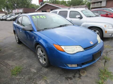 2004 Saturn Ion for sale at Fox River Motors, Inc in Green Bay WI