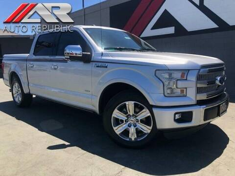 2016 Ford F-150 for sale at Auto Republic Fullerton in Fullerton CA
