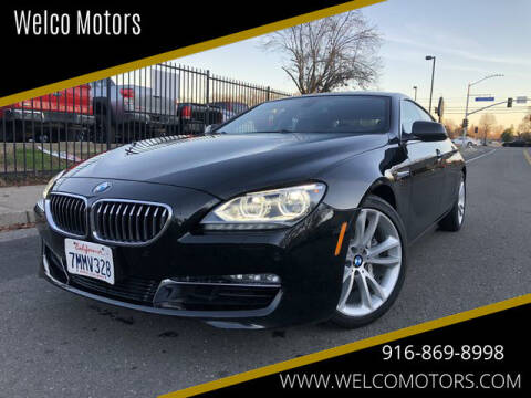 2013 BMW 6 Series for sale at Welco Motors in Rancho Cordova CA