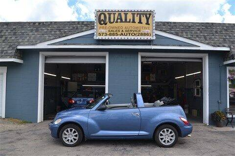2006 Chrysler PT Cruiser for sale at Quality Pre-Owned Automotive in Cuba MO