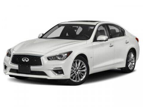 2018 Infiniti Q50 for sale at Hawk Ford of St. Charles in St Charles IL
