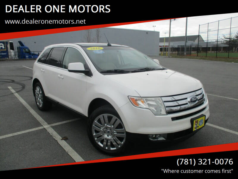 2010 Ford Edge for sale at DEALER ONE MOTORS in Malden MA