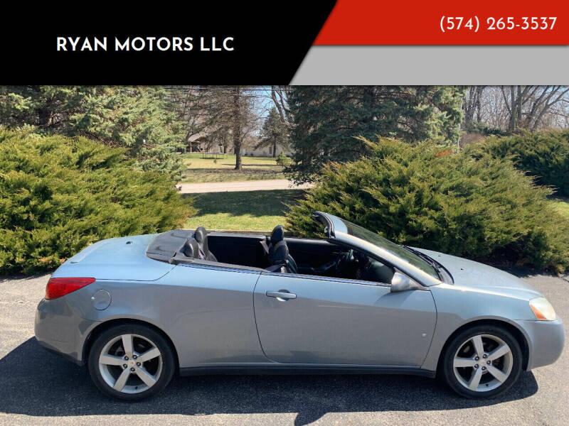 2007 Pontiac G6 for sale at Ryan Motors LLC in Warsaw IN