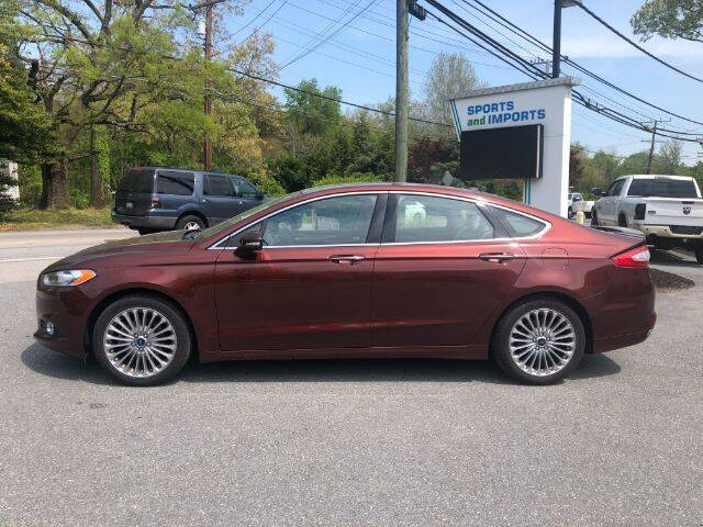 2015 Ford Fusion for sale at Sports & Imports in Pasadena MD