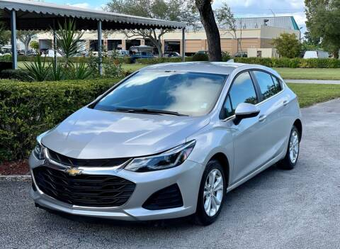 2019 Chevrolet Cruze for sale at Sunshine Auto Sales in Oakland Park FL