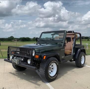 1998 Jeep Wrangler for sale at Race Auto Sales in San Antonio TX