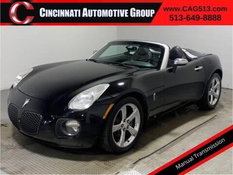 2007 Pontiac Solstice for sale at Cincinnati Automotive Group in Lebanon OH