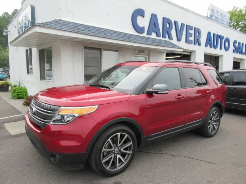 2015 Ford Explorer for sale at Carver Auto Sales in Saint Paul MN