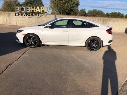 2019 Honda Civic for sale at BOB HART CHEVROLET in Vinita OK