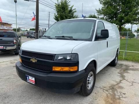 2019 Chevrolet Express Cargo for sale at LA PULGA DE AUTOS in Dallas TX