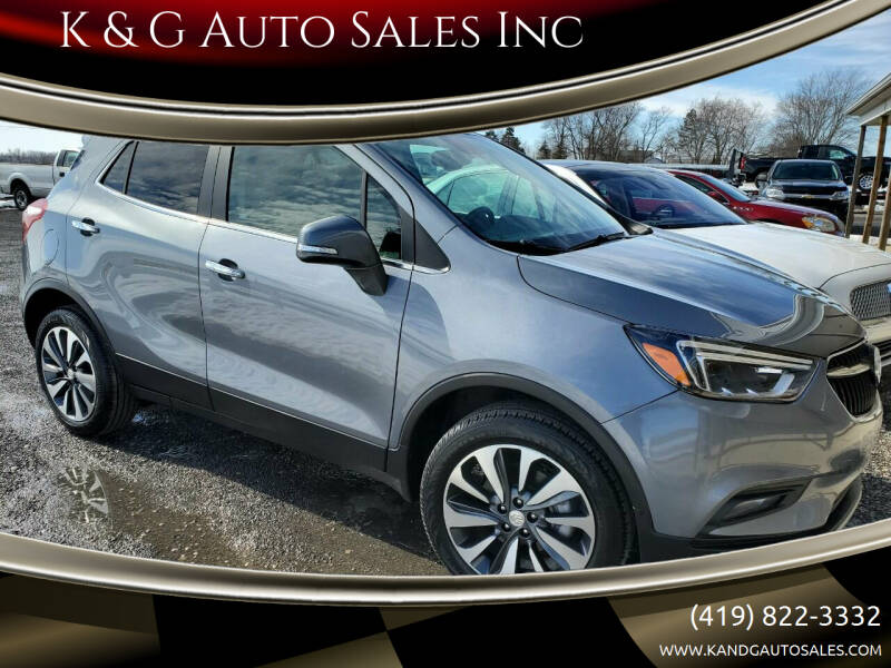 2020 Buick Encore for sale at K & G Auto Sales Inc in Delta OH