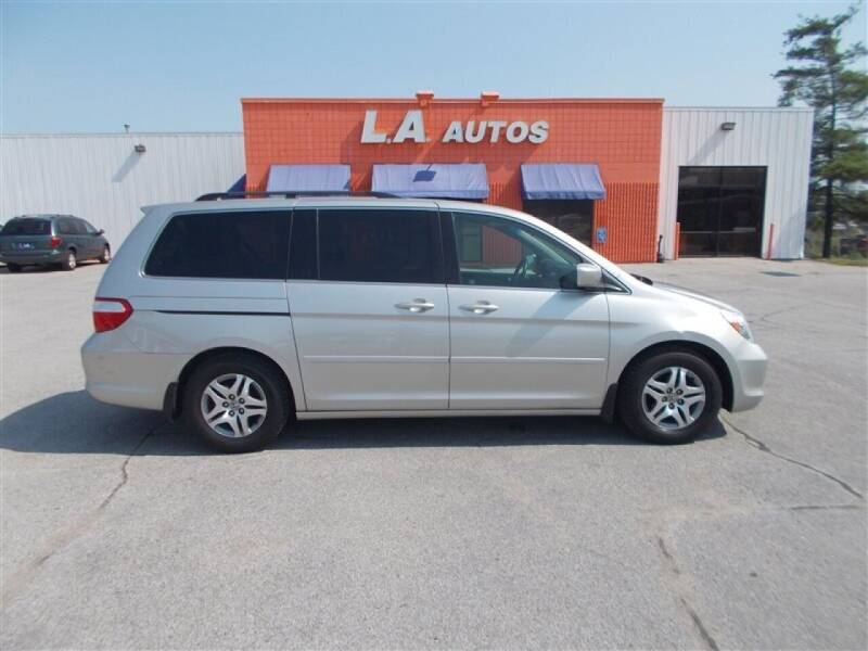 2006 Honda Odyssey for sale at L A AUTOS in Omaha NE