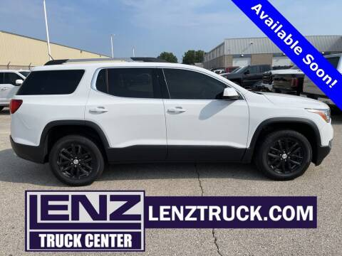 2018 GMC Acadia for sale at LENZ TRUCK CENTER in Fond Du Lac WI