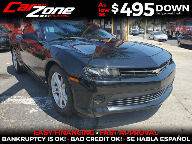 2015 Chevrolet Camaro for sale at Carzone Automall in South Gate CA