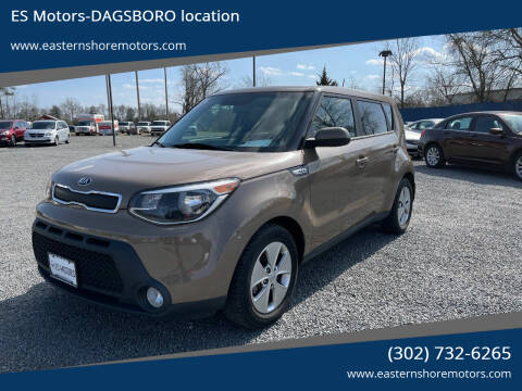 2015 Kia Soul for sale at ES Motors-DAGSBORO location in Dagsboro DE