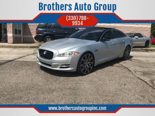 2011 Jaguar XJ for sale at Brothers Auto Group in Youngstown OH