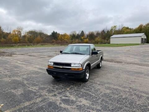 2003 Chevrolet S-10 for sale at Caruzin Motors in Flint MI