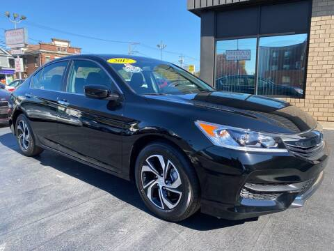 2017 Honda Accord for sale at C Pizzano Auto Sales in Wyoming PA