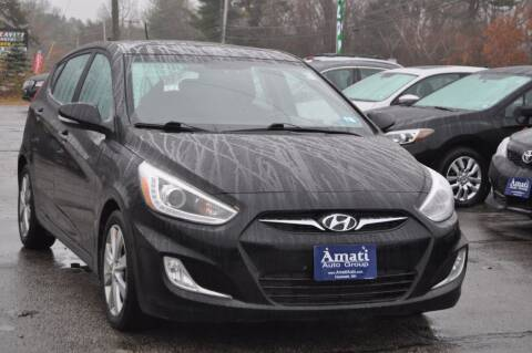 2014 Hyundai Accent for sale at Amati Auto Group in Hooksett NH