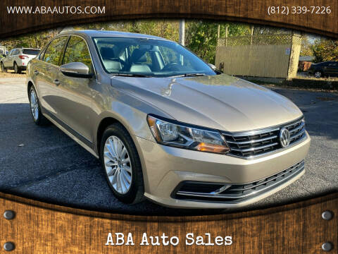 2016 Volkswagen Passat for sale at ABA Auto Sales in Bloomington IN