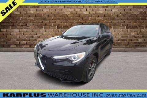 2018 Alfa Romeo Stelvio for sale at Karplus Warehouse in Pacoima CA