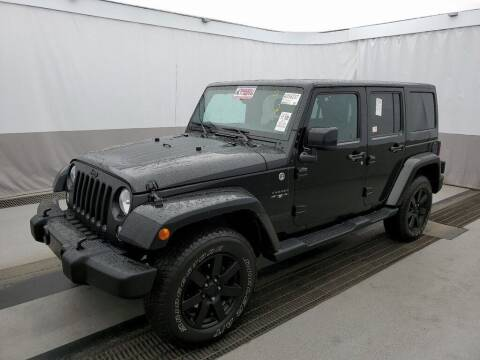 2014 Jeep Wrangler Unlimited for sale at Coast to Coast Imports in Fishers IN