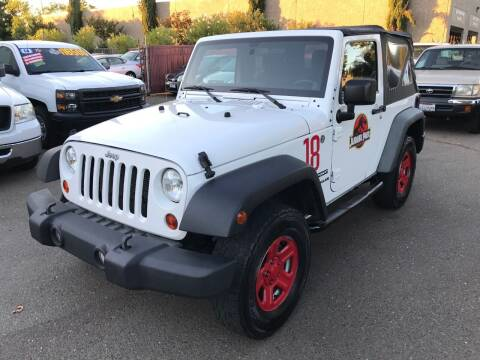 2012 Jeep Wrangler for sale at C. H. Auto Sales in Citrus Heights CA