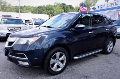 2010 Acura MDX for sale at Top Line Import of Methuen in Methuen MA