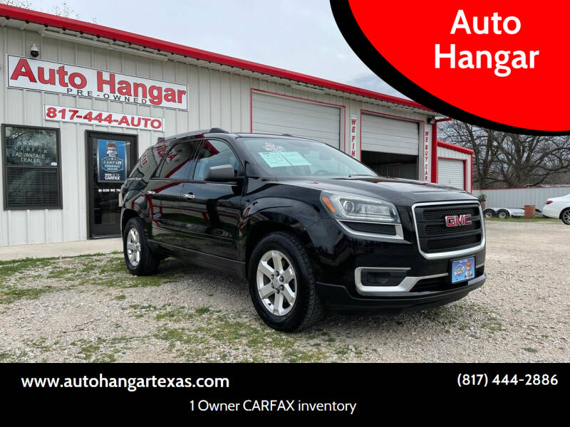 2016 GMC Acadia for sale at Auto Hangar in Azle TX