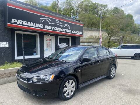 2014 Mitsubishi Lancer Sportback for sale at Premier Automotive Group in Pittsburgh PA