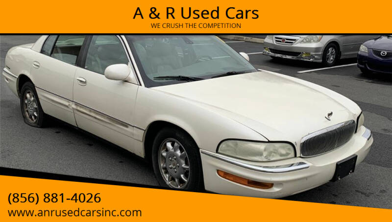 2002 Buick Park Avenue for sale at A & R Used Cars in Clayton NJ