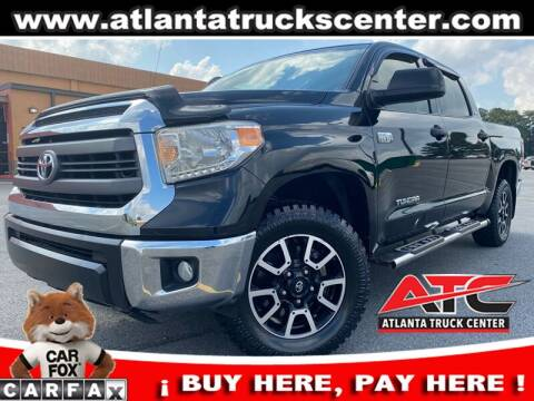 2014 Toyota Tundra for sale at ATLANTA TRUCK CENTER LLC in Brookhaven GA