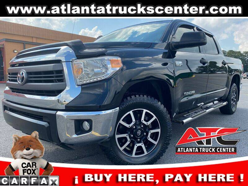2014 Toyota Tundra for sale at ATLANTA TRUCK CENTER LLC in Brookhaven GA