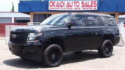 2015 Chevrolet Tahoe for sale at Okaidi Auto Sales in Sacramento CA