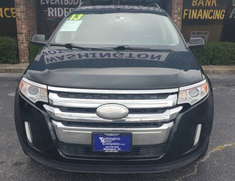 2013 Ford Edge for sale at East Carolina Auto Exchange in Greenville NC