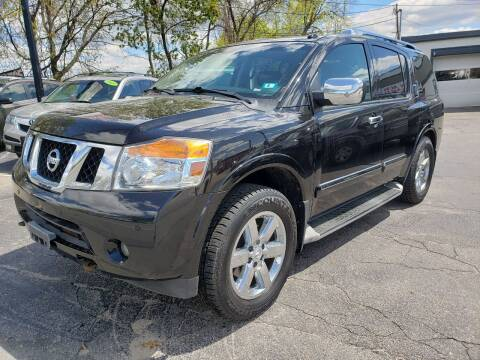 2013 Nissan Armada for sale at Real Deal Auto Sales in Manchester NH