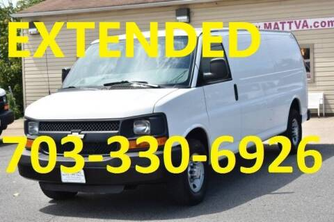 2010 Chevrolet Express Cargo for sale at MANASSAS AUTO TRUCK in Manassas VA