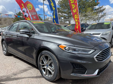2020 Ford Fusion for sale at Duke City Auto LLC in Gallup NM