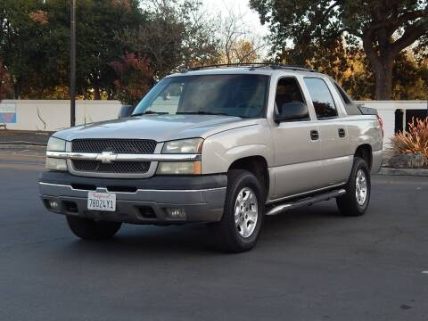 2004 Chevrolet Avalanche for sale at Gilroy Motorsports in Gilroy CA