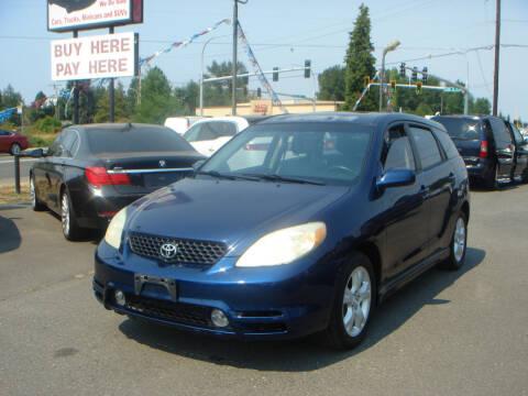 2004 Toyota Matrix for sale at Sound Auto Land LLC in Auburn WA