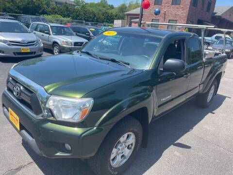 2013 Toyota Tacoma for sale at KINGSTON AUTO SALES in Wakefield RI