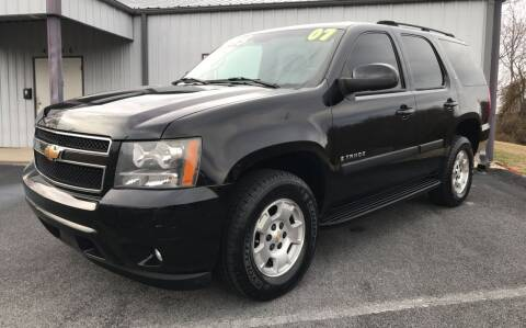 2007 Chevrolet Tahoe for sale at Auto Liquidators in Bluff City TN