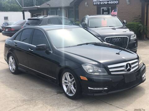 2013 Mercedes-Benz C-Class for sale at Safeen Motors in Garland TX