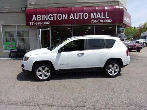 2016 Jeep Compass for sale at Abington Auto Mall LLC in Abington MA