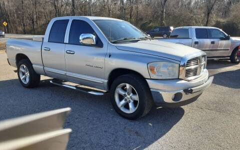 2007 Dodge Ram Pickup 1500 for sale at Mathews Used Cars, Inc. in Crawford GA