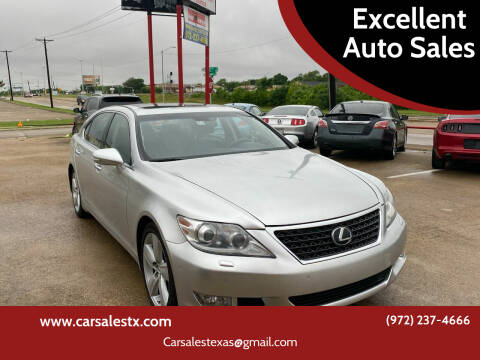 2010 Lexus LS 460 for sale at Excellent Auto Sales in Grand Prairie TX