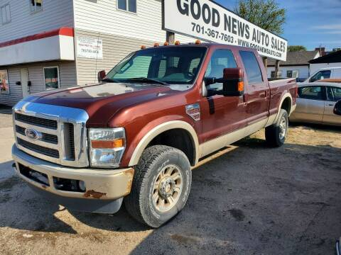 2008 Ford F-350 Super Duty for sale at GOOD NEWS AUTO SALES in Fargo ND
