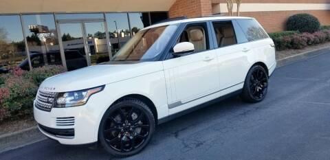 2017 Land Rover Range Rover for sale at RPM Exotic Cars in Atlanta GA